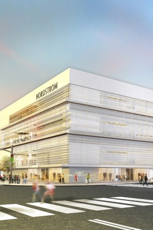 A rendering of the Nordstrom store in Yorkdale Shopping Centre.