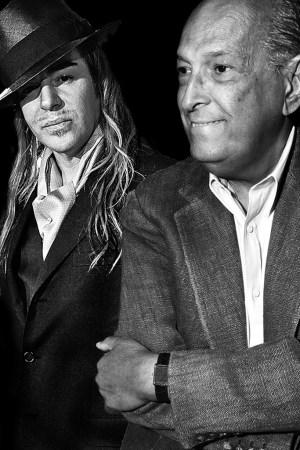 John Galliano and Oscar de la Renta