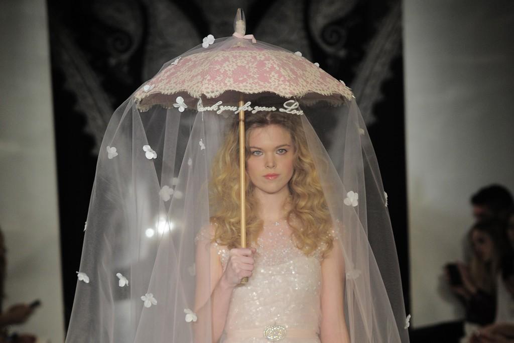 Reem Acra Bridal Spring 2014