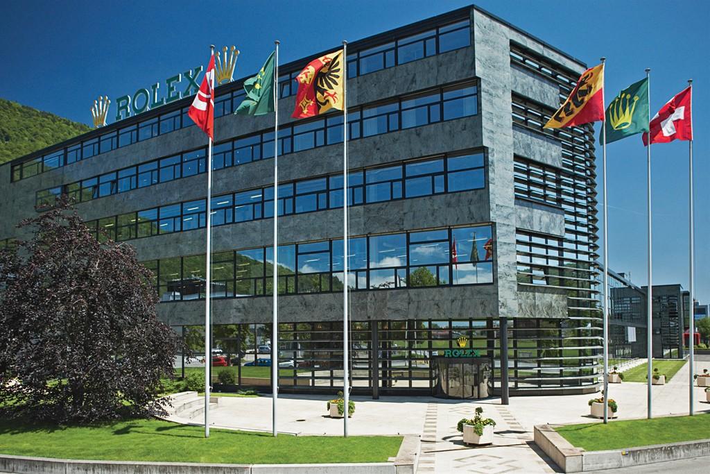 Rolex's Bienne, Switzerland, facility.