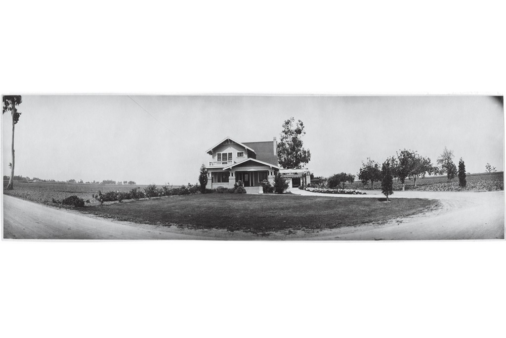 C.J. Segerstrom's family home still stands near the mall in Costa Mesa, Calif.