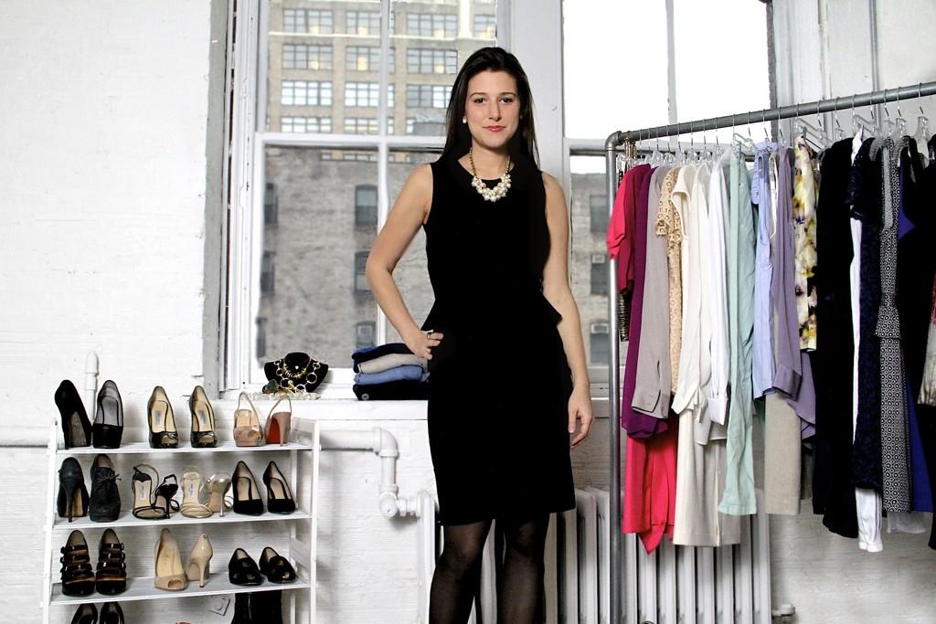 Katie Nadler in her TopShelf offices.