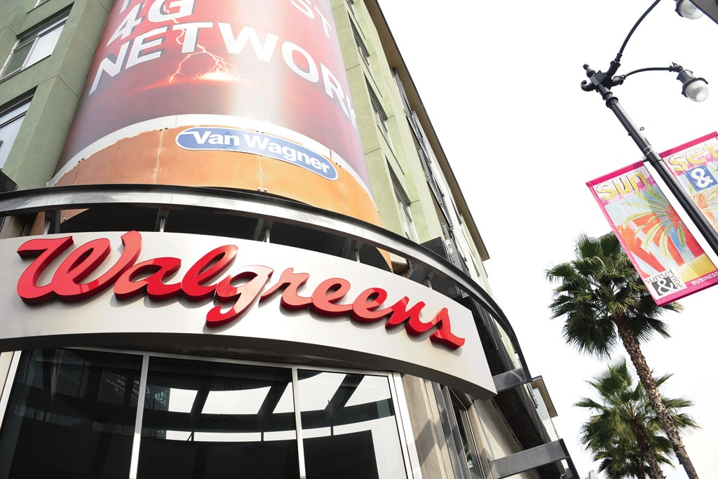 Walgreens' Los Angeles flagship.