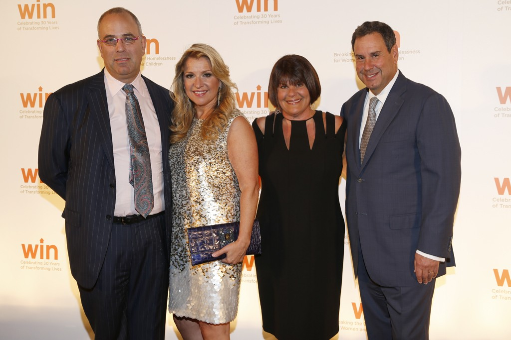Neil and Mindy Grossman with Karin and Steve Sadove