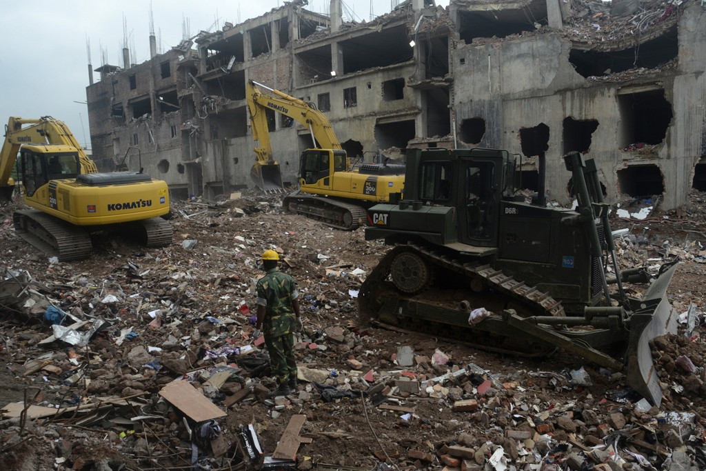 The Rana Plaza garment factory tragedy has now clamed the lives of 1,127 people.