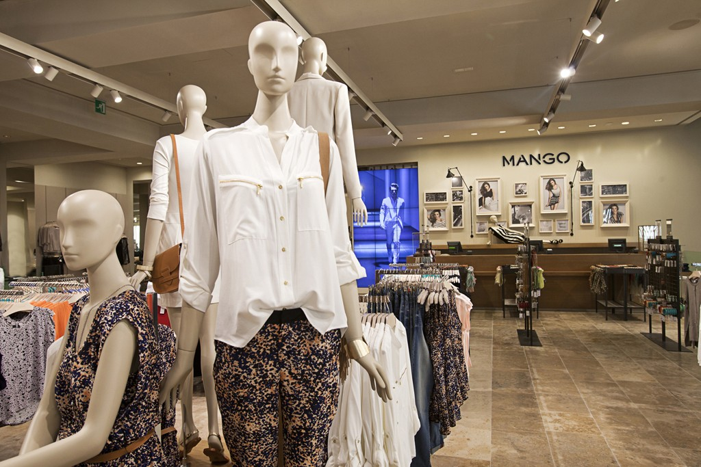Mango opened its 16th store in Barcelona in February '13.