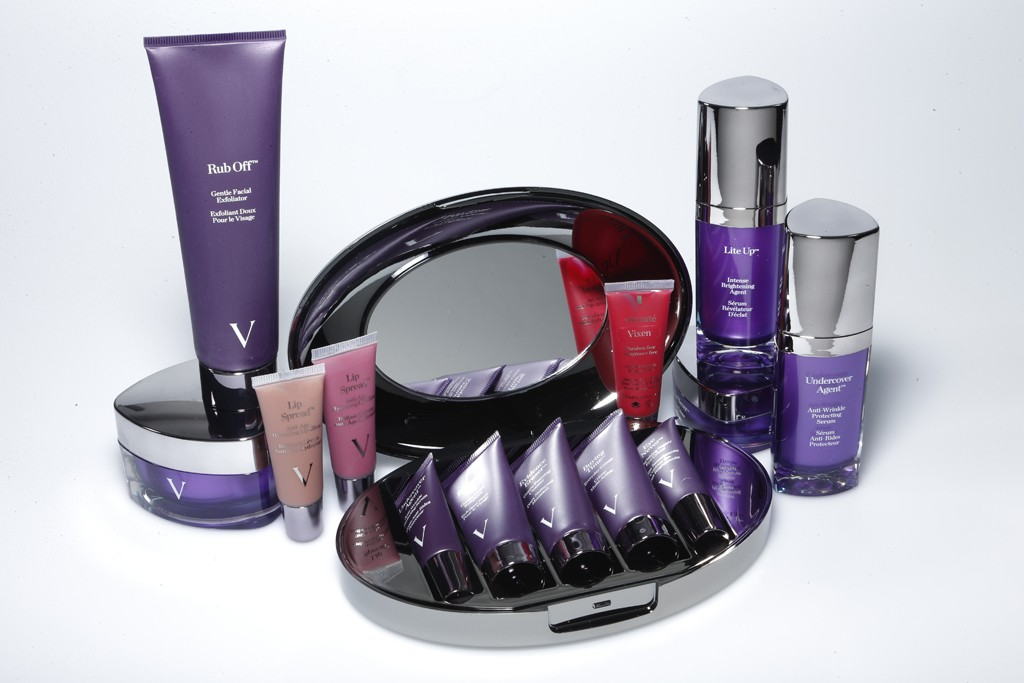 Products from the vBeauté line.
