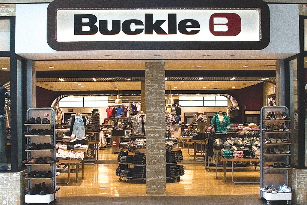 Exterior of a Buckle store.