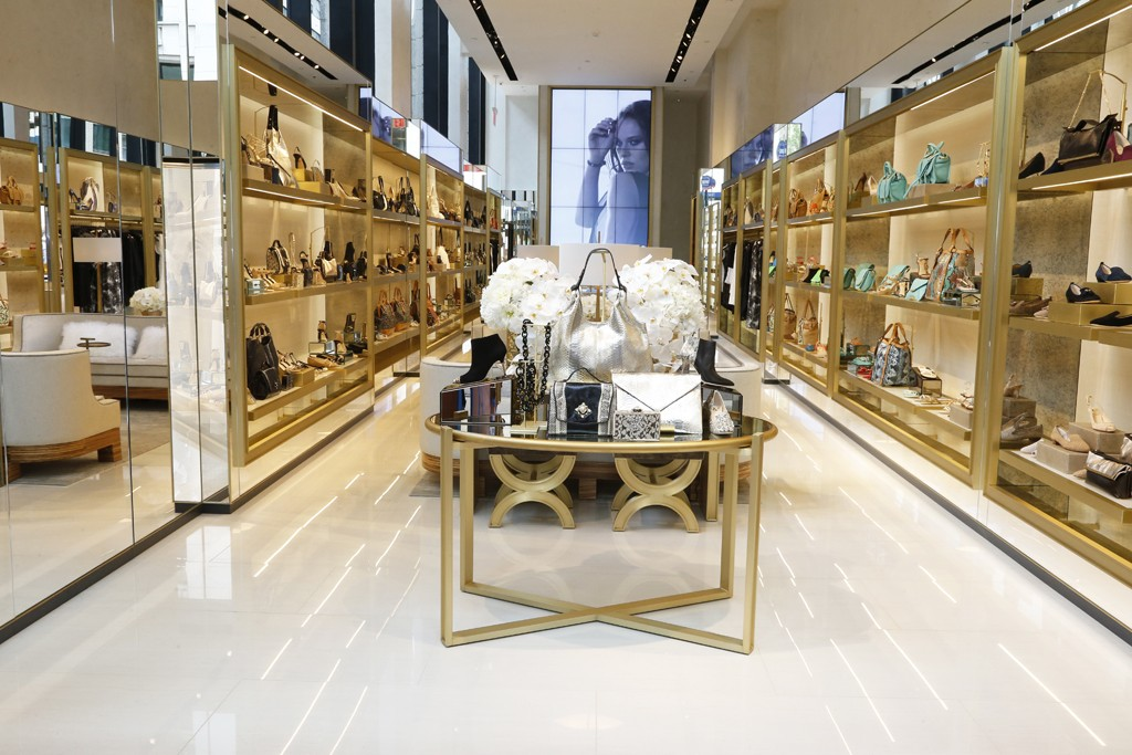 The entrance to the VC Signature store on Madison Avenue.