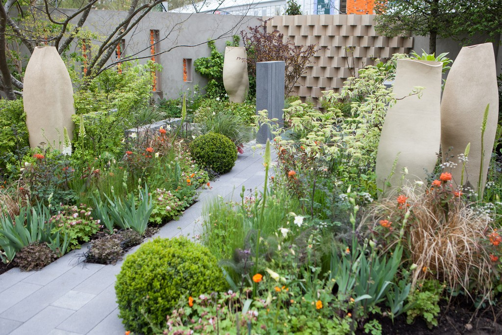 The BrandAlley garden at the Chelsea Flower Show.