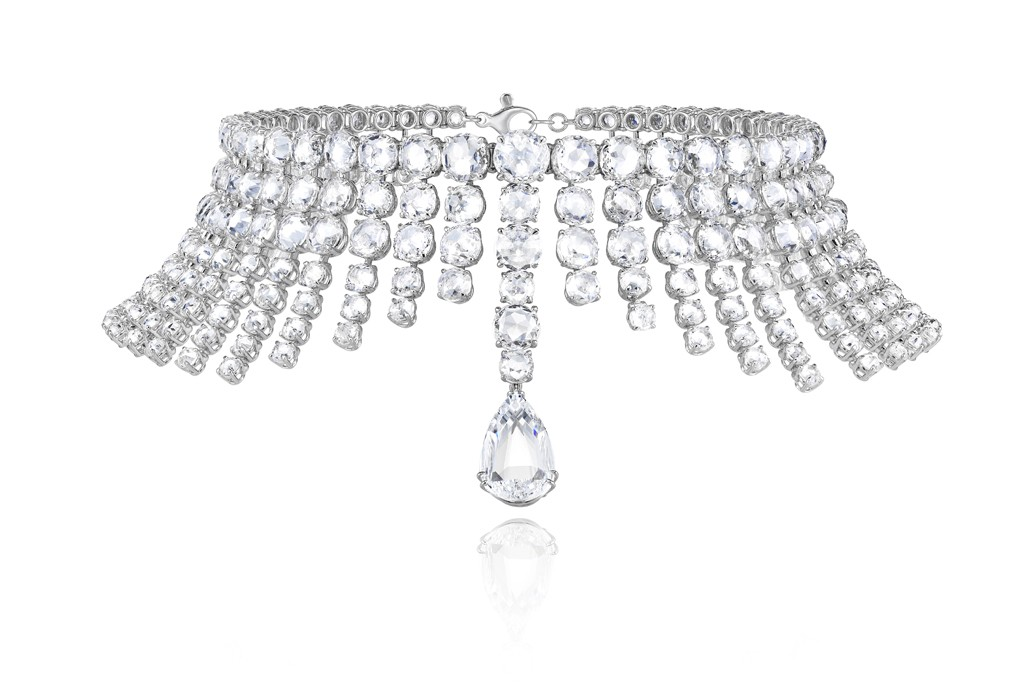 Chopard diamond necklace from the 2013 Red Carpet Collection.