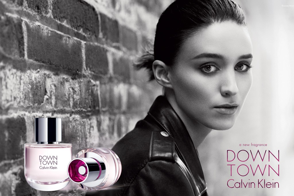The Downtown ad campaign features Rooney Mara.