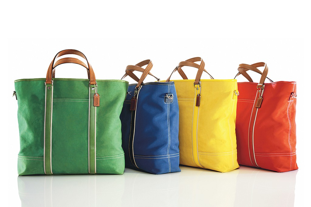 Bags by Coach.