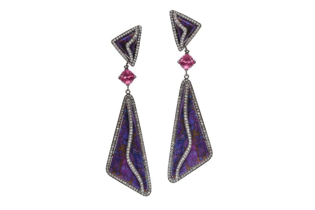 Earrings from Colette.