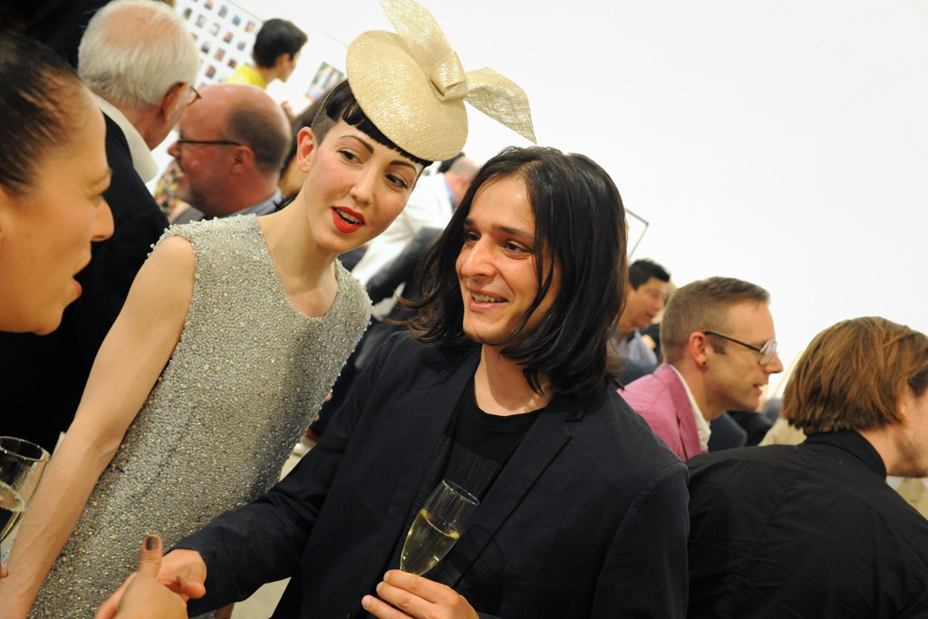 Michelle Harper in Theyskens' Theory with Olivier Theyskens.