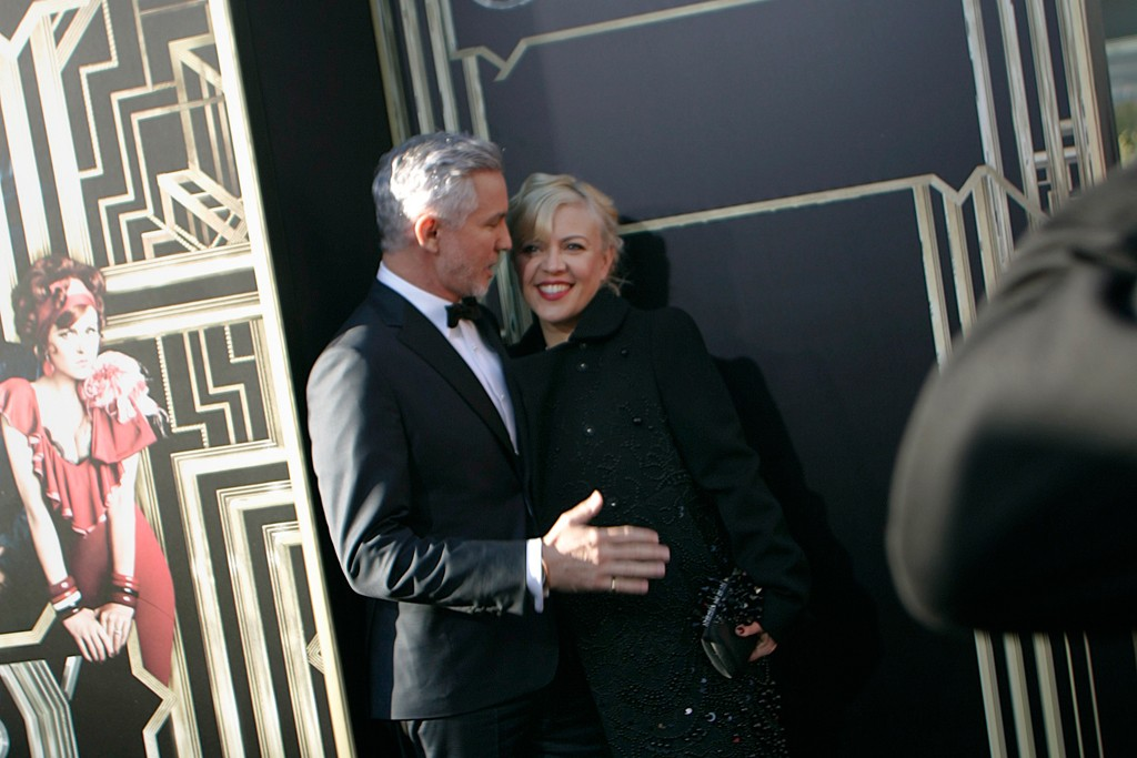 Baz Luhrmann in Brooks Brothers with Catherine Martin.