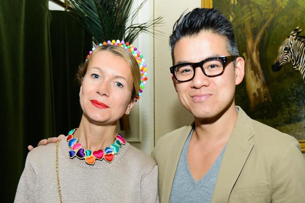 Natalie Joos and Peter Som