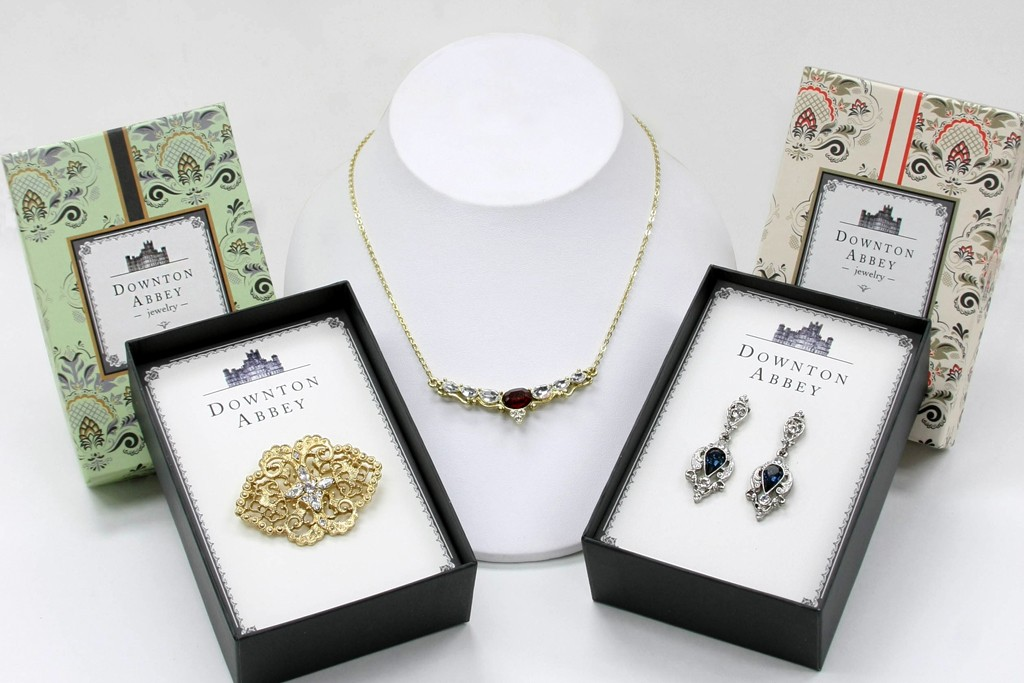 Pieces from 1928 Jewelry Co.'s Downton Abbey line.