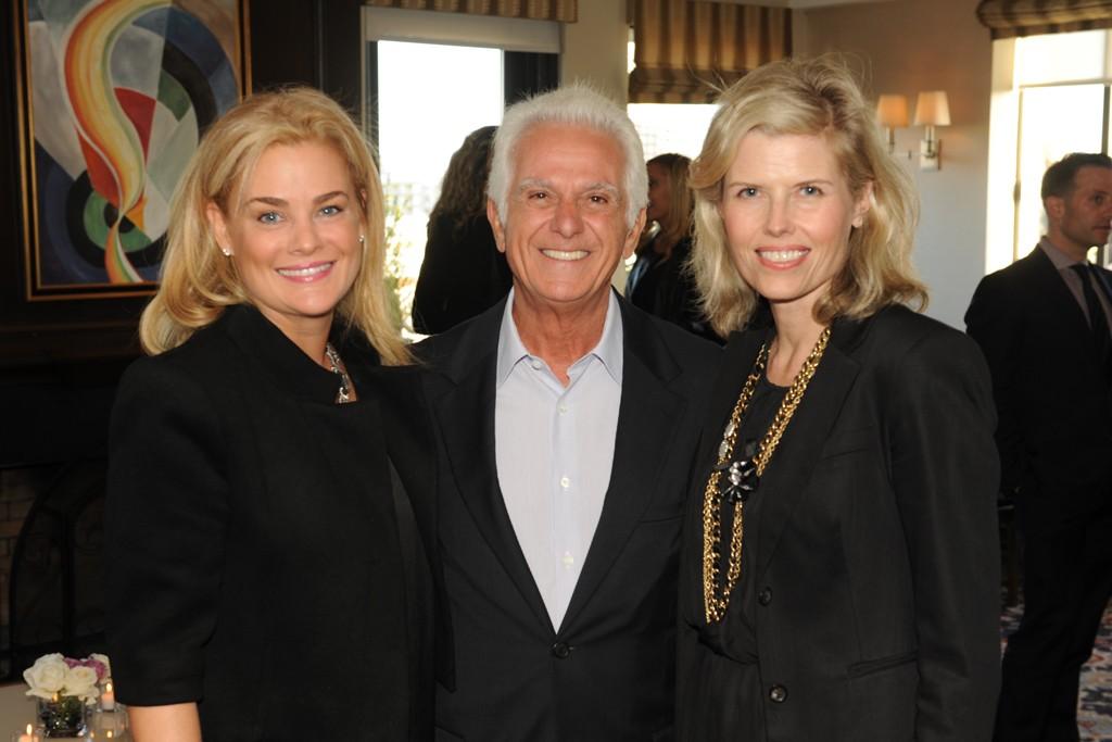 Christine Beauchamp, Maurice Marciano and Tracy Gardner.