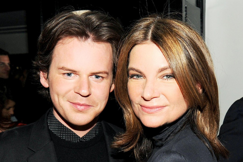 Christopher Kane and Natalie Massenet