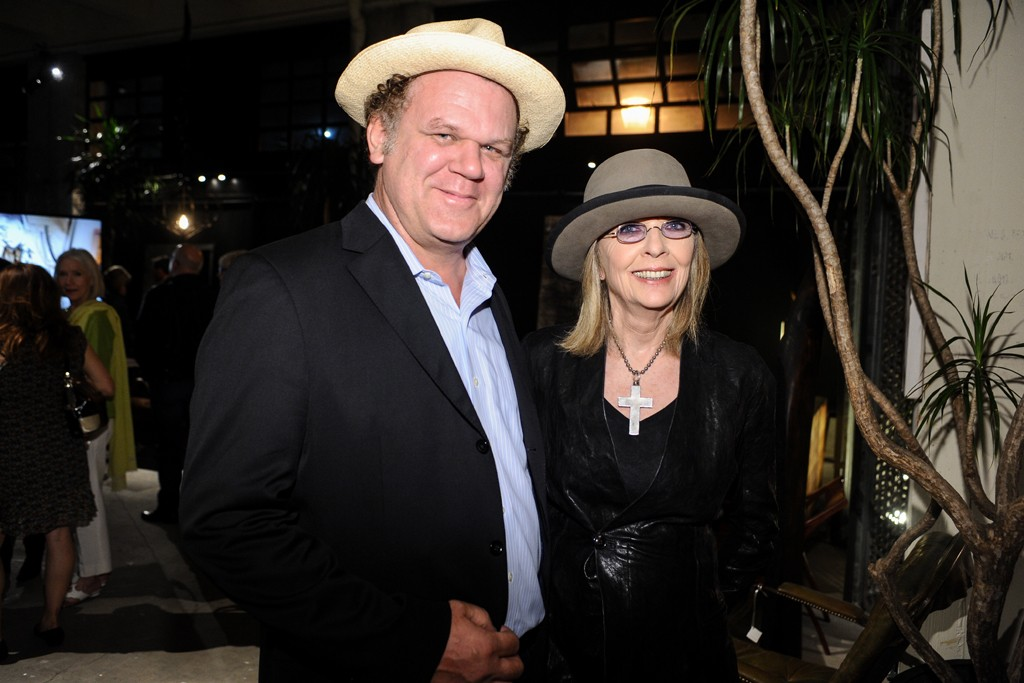 John C. Reilly and Diane Keaton