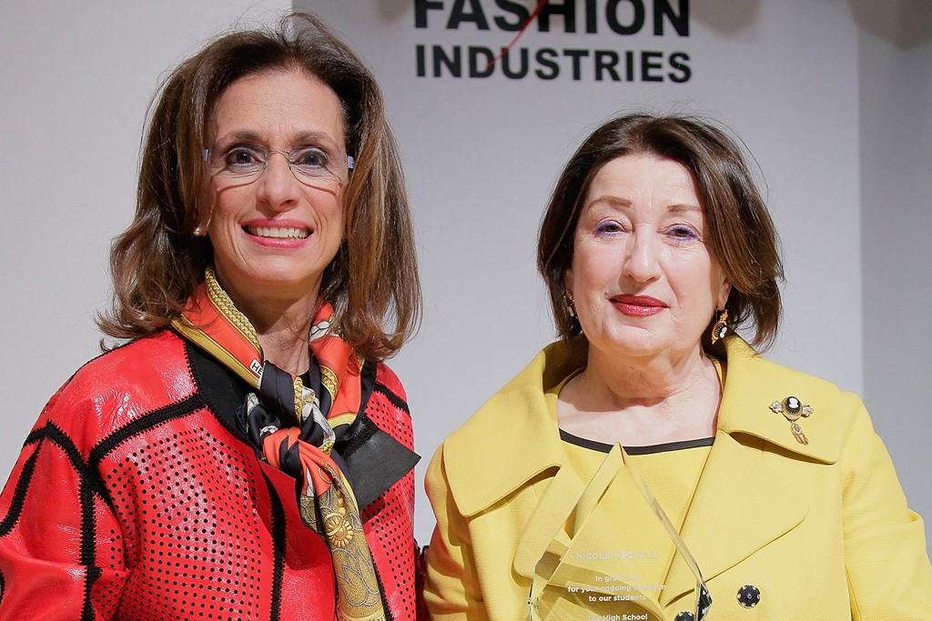 Rose Marie Bravo and Nicole Fischelis