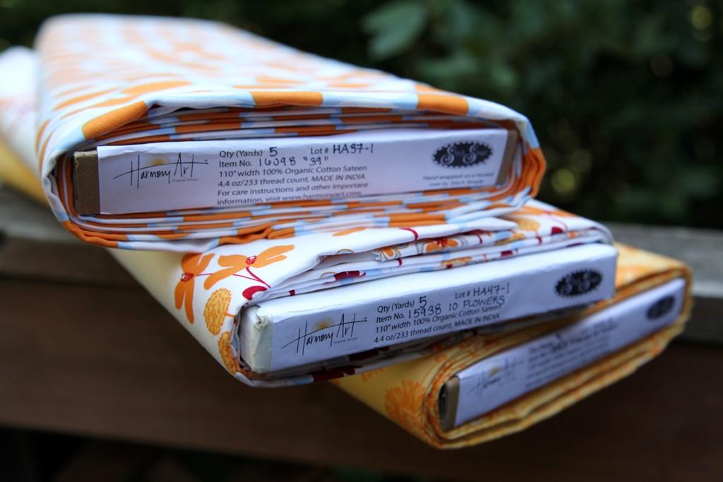 Harmony Art Fabric's organic cotton.