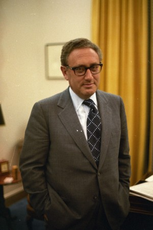 Henry Kissinger in 1973.