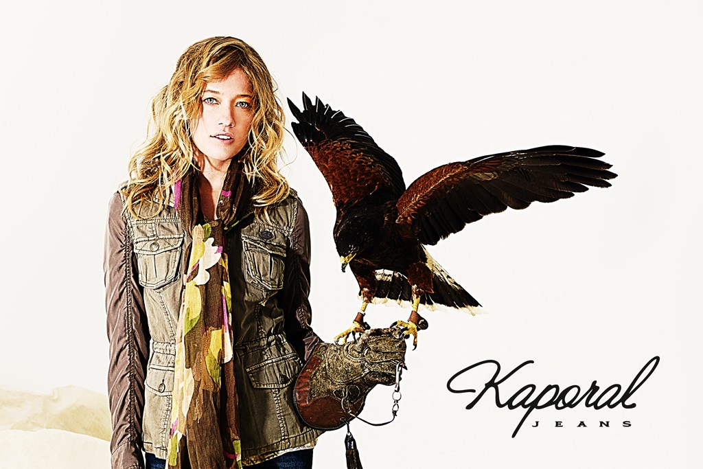 An ad for Kaporal Jeans.