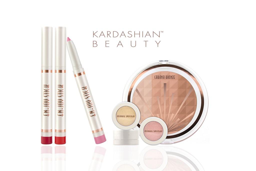 Kardashian Beauty items.