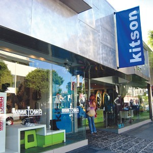 Exterior view of a Kitson store.