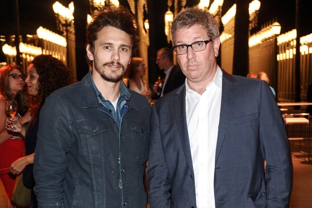 James Franco and Marc Glimcher