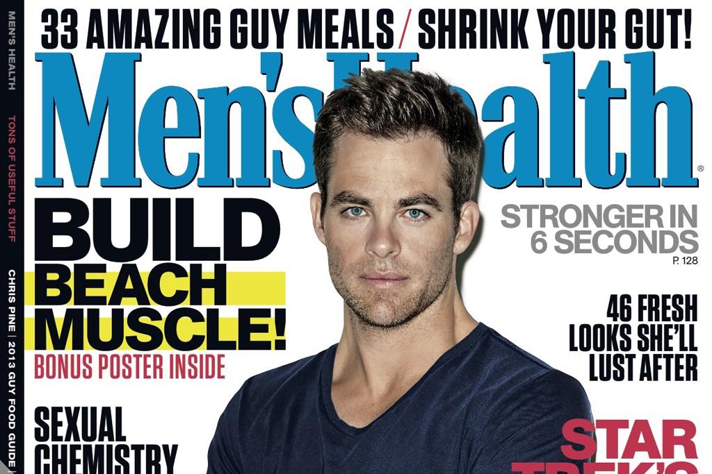 June 2013 issue of Men's Health.