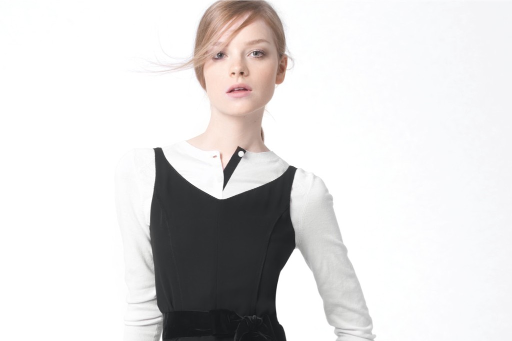 A look from Nina Ricci's Les Envies Spring capsule collection.