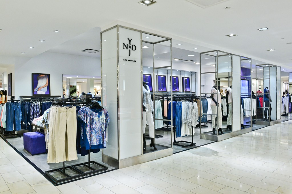 The NYDJ shop at Bloomingdale's.