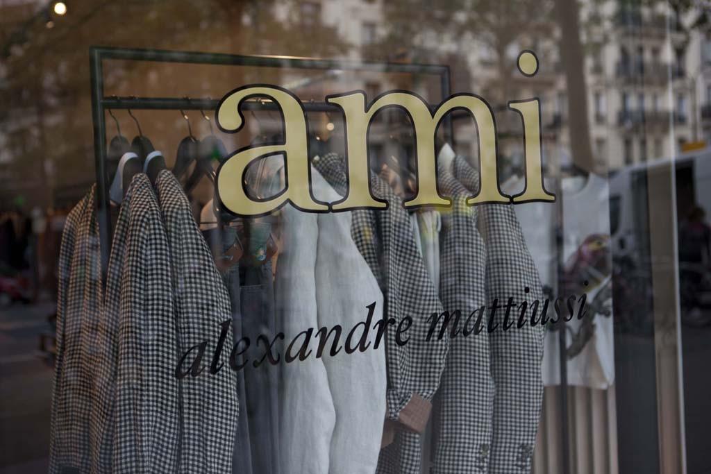 Ami in the north Marais.