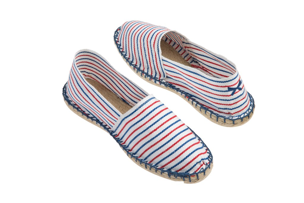 Guillaume Gibault's espadrilles created with shoemaker 1789 Cala, part of the Claudie Pierlot capsule collection.