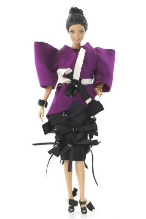 Limited Edition Roksanda Ilincic doll for Barbie's 50th anniversary.