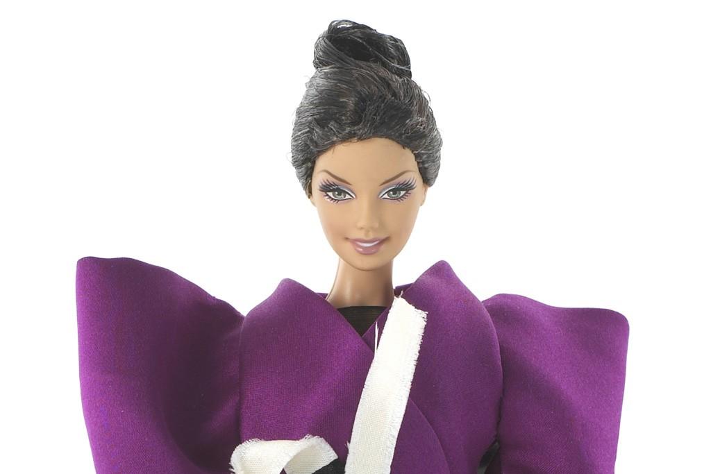 Limited Edition Roksanda Ilincic doll for Barbie's 50th anniversary.
