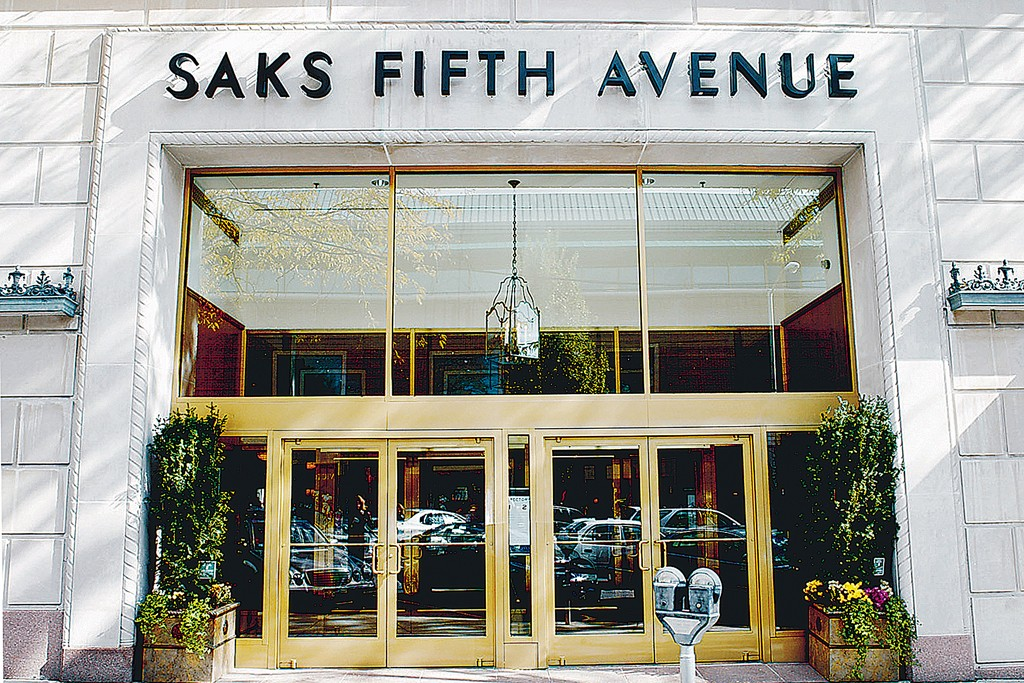 Saks turned in a gain of 9.3 percent.