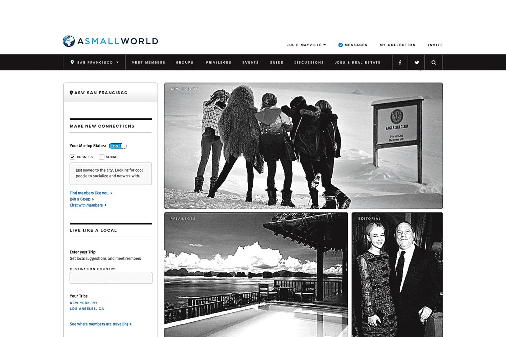 The new homepage that launches on Monday.