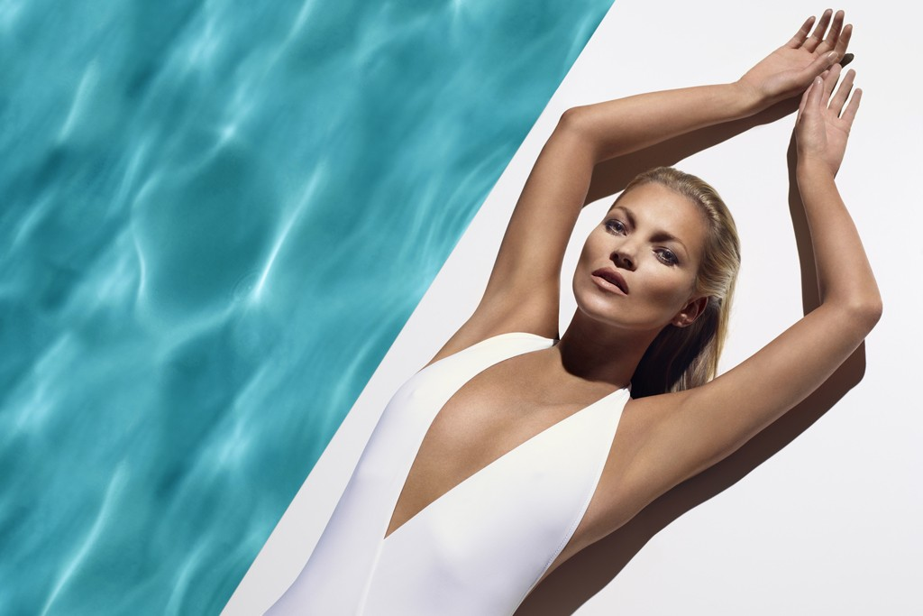 Kate Moss for St. Tropez.