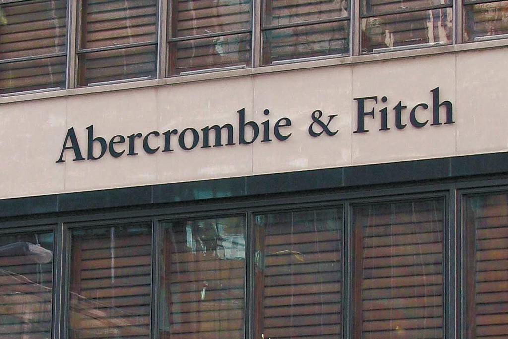 The exterior of an Abercrombie & Fitch.