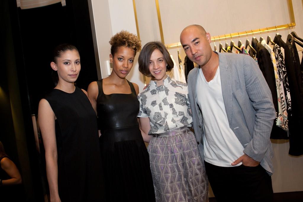 Michelle Ochs, Carly Cushnie, Erin Beatty and Max Osterweis.