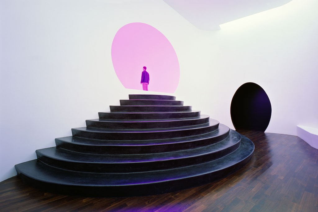 """A view from Turrell's """"Akhob."""""""