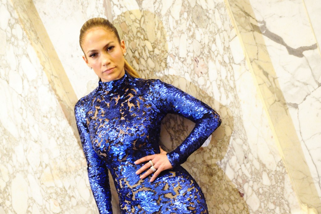 Jennifer Lopez in Tom Ford.