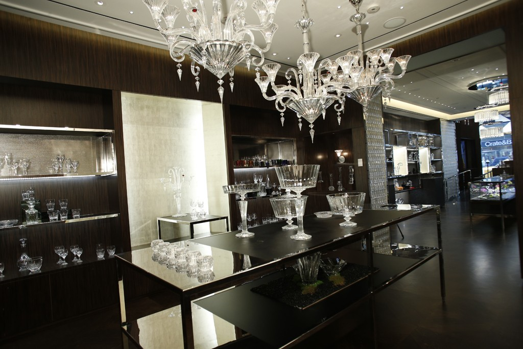 Baccarat's New York Flagship on Madison Avenue