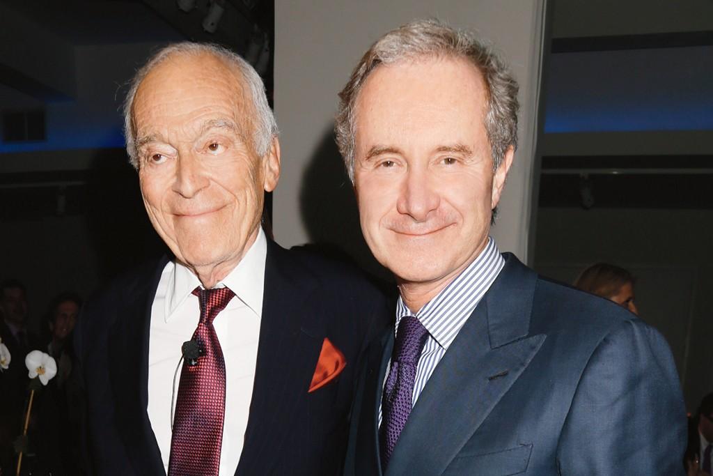 Leonard A. Lauder and Fabrizio Freda