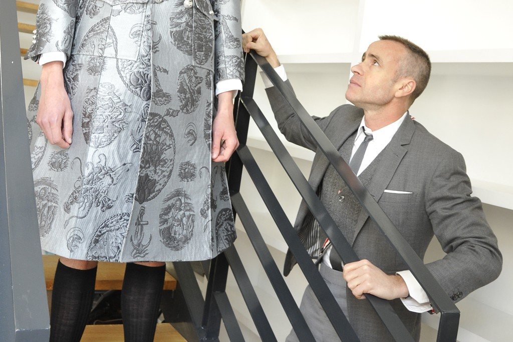 Behind the scenes with Thom Browne.