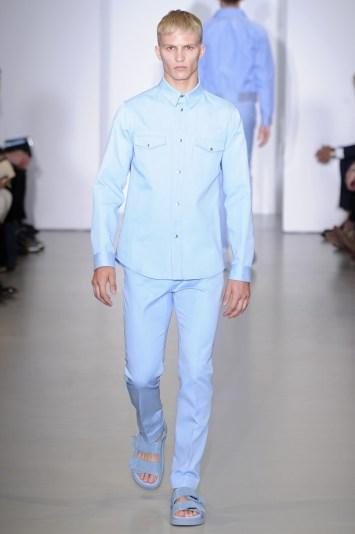 Calvin Klein Men's RTW Spring 2014